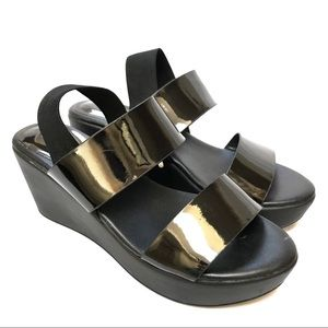 Charles by Charles David Platform Sandals in Black